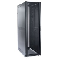 APC NetShelter SX 42U/600mm/1200mm Enclosure with Roof and Sides Black