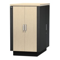 APC NetShelter CX 24U Secure Soundproofed Server Room in a Box Enclosure International