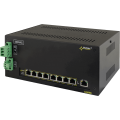 PULSAR DSB98 The DIN/Switch DSB98 9-port switch for 8 IP cameras with battery backup DSB98_