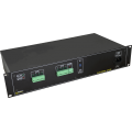 PULSAR  RAC24P RAC 24VAC/8x1A/PTC RACK mounted power supply for up to 8 cameras with galvanic isolation