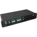PULSAR  RUPS812T RUPS 13,8V/8x1A/TOPIC RACK mounted buffer power supply for up to 8 analog cameras