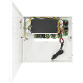 PULSAR S98-BR 9-port switch for 8 IP cameras in enclosure with power supply for DVR and battery backup.