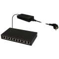 PULSAR SG108 10-port switch for 8 IP cameras