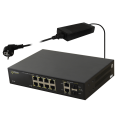 PULSAR SF108 10-port switch for 8 IP cameras
