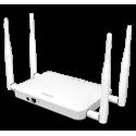 ENGENIUS ECB1200 Wireless Dual Band AP/CB 11ac/b/g/n 2.4+5GHz 300+866 3T3R+3T3R 4*5dBi RP-SMA Omni GbE PoE