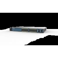 ENGENIUS EWS1200-28TFP Wireless Management 50AP 24-port GbE PoE.at Switch 410W 4SFP L2 19i