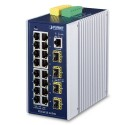 PLANET IGS-6325-16T4S Industrial L3 16-Port 10/100/1000T + 4-Port 100/1000X SFP Managed Ethernet Switch