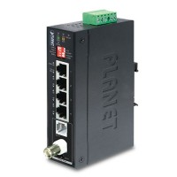 PLANET IVC-234GT 1-Port BNC/RJ11 to 4-Port Gigabit Ethernet Extender