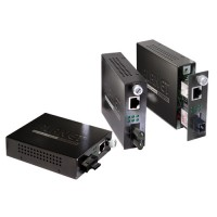 PLANET FST-806B20 10/100Base-TX to 100Base-FX (SC WDM, SM) Smart Media Converter- TX: 1550nm-20km