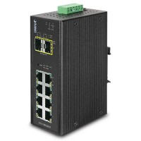 PLANET IGS-10020MT Industrial L2+ 8-Port 10/100/1000T + 2 100/1000X SFP Managed Switch
