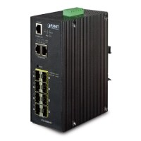 PLANET IGS-10080MFT Industrial 8 100/1000X SFP + 2-Port 10/100/1000T Managed Switch (-40 ~ 75 Degree C)