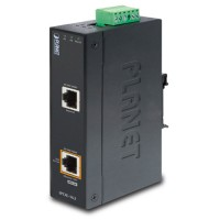 PLANET IPOE-162  Industrial IEEE 802.3at Gigabit High Power over Ethernet Injector (Mid-Span)