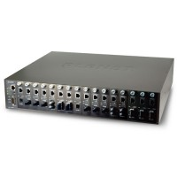 PLANET MC-1610MR 16-slot Managed Media Converter Chassis (AC power) with Redundant Power Supply System