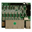 XORCOM XR0035 6 FXS (Foreign Exchange Station), 2 FXO (Foreign Exchange Office) / IO Telephony Line Interface Module