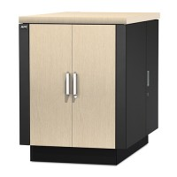 APC NetShelter CX 18U Secure Soundproofed Server Room in a Box Enclosure International