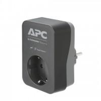 APC PME1WB-GR APC Essential SurgeArrest 1 Outlet Black 230V Germany