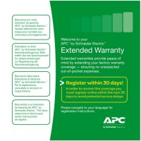 APC WBEXTWAR1YR-SP-01A Service Pack 1 Year Warranty Extension (for new product purchases)
