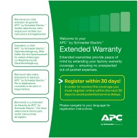 APC WBEXTWAR1YR-NB-07 Service Pack 1 Year Parts and Software Support Extended Warranty for 1 NetBotz 7-Series