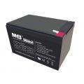 MHB MS 13-12 Sealed Lead Acid Battery 12V-13Ah