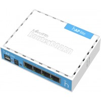 MIKROTIK RB941-2nD RouterBoard 941-2nD, Dual chain 2.4GHz 802.11b/g/n, 650 MHz CPU, 32MB RAM, Power: 5V - microUSB Power , 4x 10/100Ethernet
