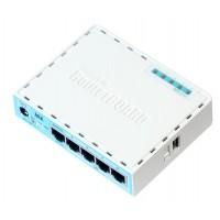 MIKROTIK RB750Gr3 HEX MT7621A, 880MHz RAM: 256MB,5X 1000Mbps