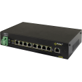 PULSAR DS98 The DIN/Switch DS98 9-port switch for 8 IP cameras without power supply unit