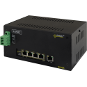 PULSAR DSA54 The DIN/Switch DSA54 5-port switch for 4 IP cameras with power supply