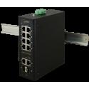 PULSAR ISF108 Industrial switch ISF108 (8xPoE, 2xCombo)