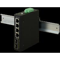 PULSAR ISFG64 Industrial switch ISFG64 (4xPoE, 2xSFP)