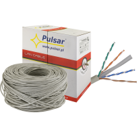PULSAR PU-NC206 Twisted pair wire, U/UTP, cat 6, 23AWG, Cu, Eca, 305m (inside)