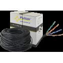 PULSAR PU-NC301 Twisted pair wire, U/UTP, cat 5e, 24AWG, Cu, Fca, 305m (outside)