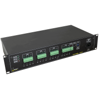 PULSAR R1612T R 12V/16x1,5A/TOPIC RACK mounted power supply for up to 16 HD cameras