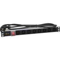 PULSAR RALZ/C13 Μονάδα διανομής τροφοδοσίας 230VAC, 8 εξόδων/C13 τύπος
