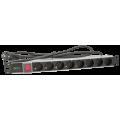 PULSAR RALZ/F Μονάδα διανομής τροφοδοσίας 230VAC, 8 εξόδων/F τύπος