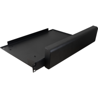 PULSAR RM1 Cable trunking with a shelf for RACK power supplies