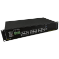 PULSAR RPUPS1248R RPUPS 54V/12V/5A RACK mounted buffer power supply for up to 12 cameras IP and DVR