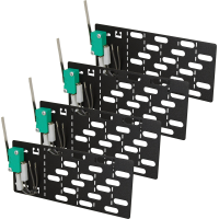 """PULSAR RWST Set of 4 tampers protection for RACK 19"""" cabinets"""
