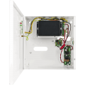 PULSAR S54-B 5-port switch for 4 IP cameras in a metal enclosure and battery backup