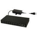 PULSAR SFG10F8 Optical switch SFG10F8 (8xSFP, 2xRJ45)