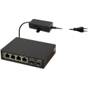 PULSAR SFG64 6-port switch for 4 IP cameras