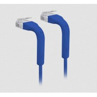 UBIQUITI UC-PATCH-RJ45-BL UniFi Ethernet Patch Cable, 0.22m, Cat6, blue